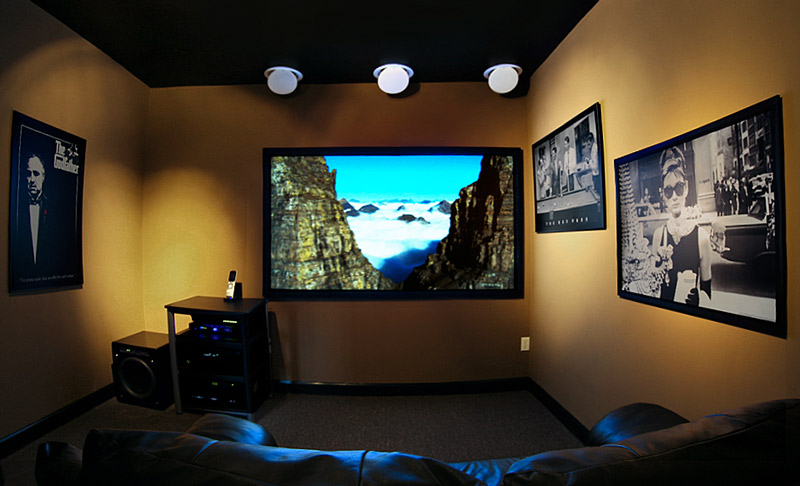 Commercial elite audio for Small room movie theater