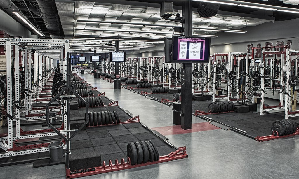 Carolina Football Gym