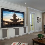 Entertainment Room Projection Screen