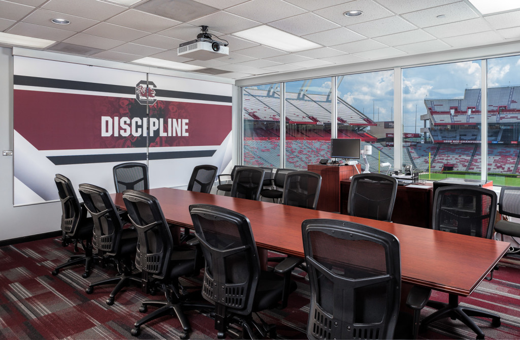 University of South Carolina Recruiting Conference Room
