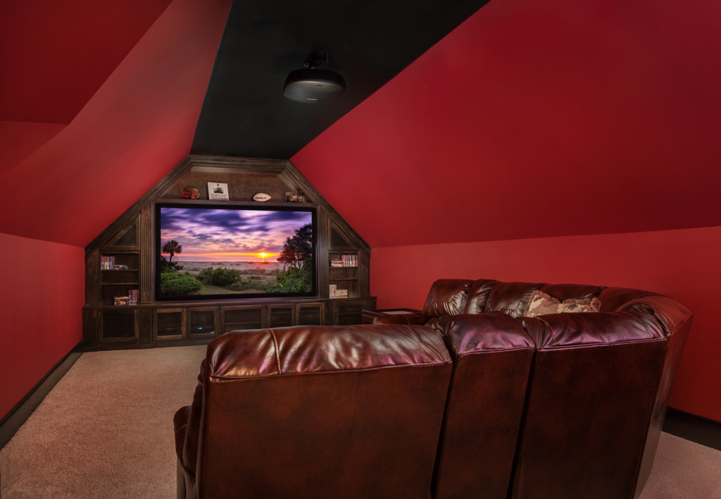 home theater after