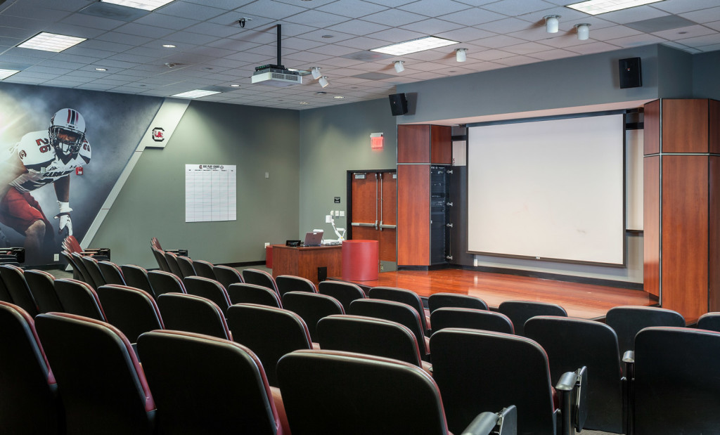 University of South Carolina Football Team Conference Room