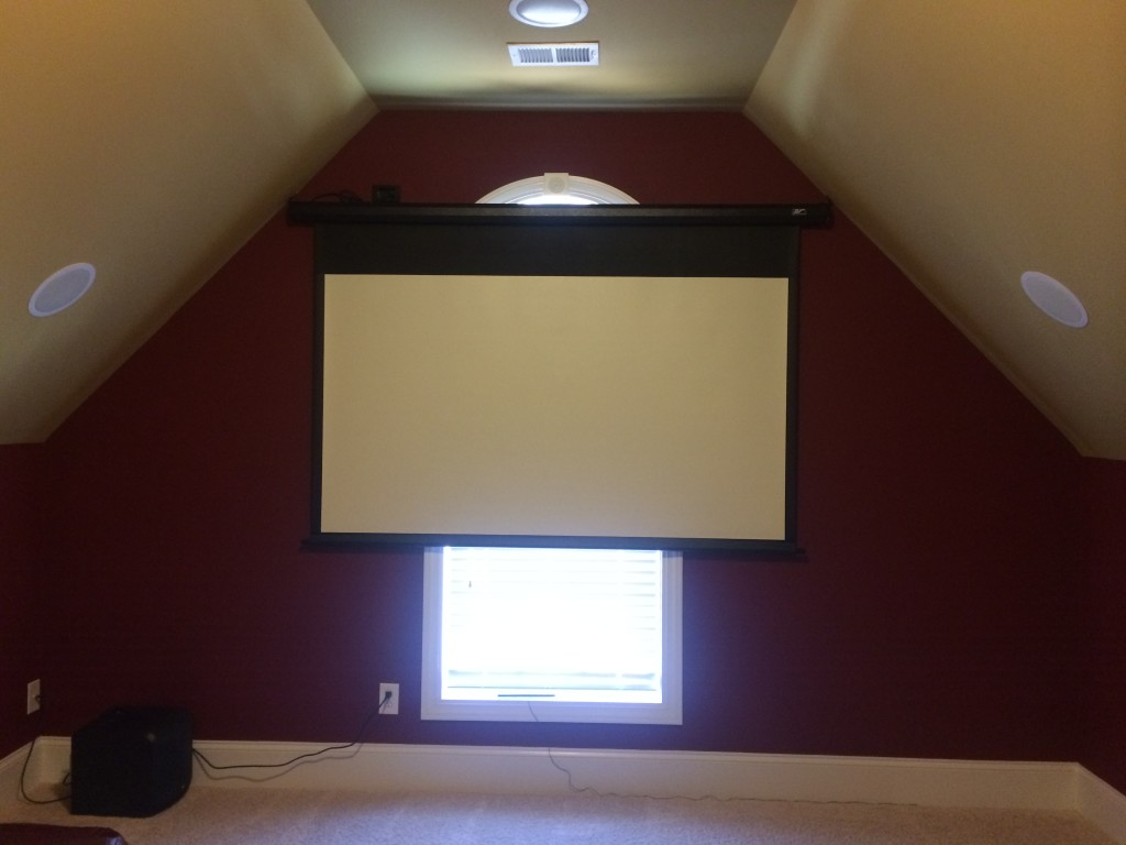home theater before