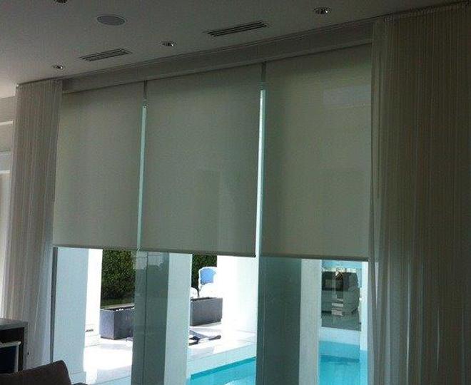 New Motorized Shades